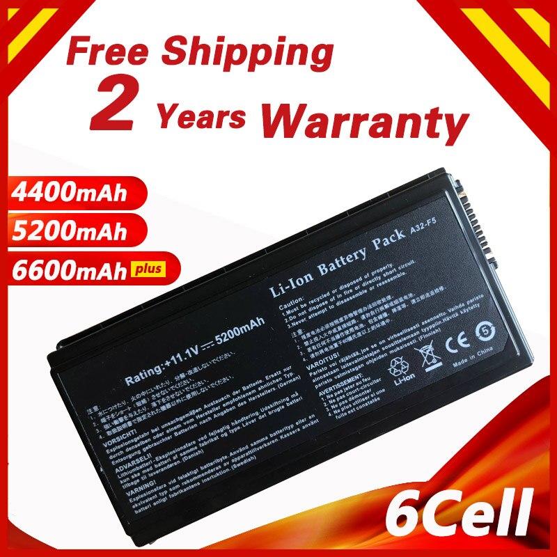 11.1 v Batterie D'ordinateur Portable pour ASUS 90-NLF1B2000Y F5Sr F5V F5VI F5VL F5Z X50 X50C X50M X50N X50R X50RL X50SL X50V x50VL