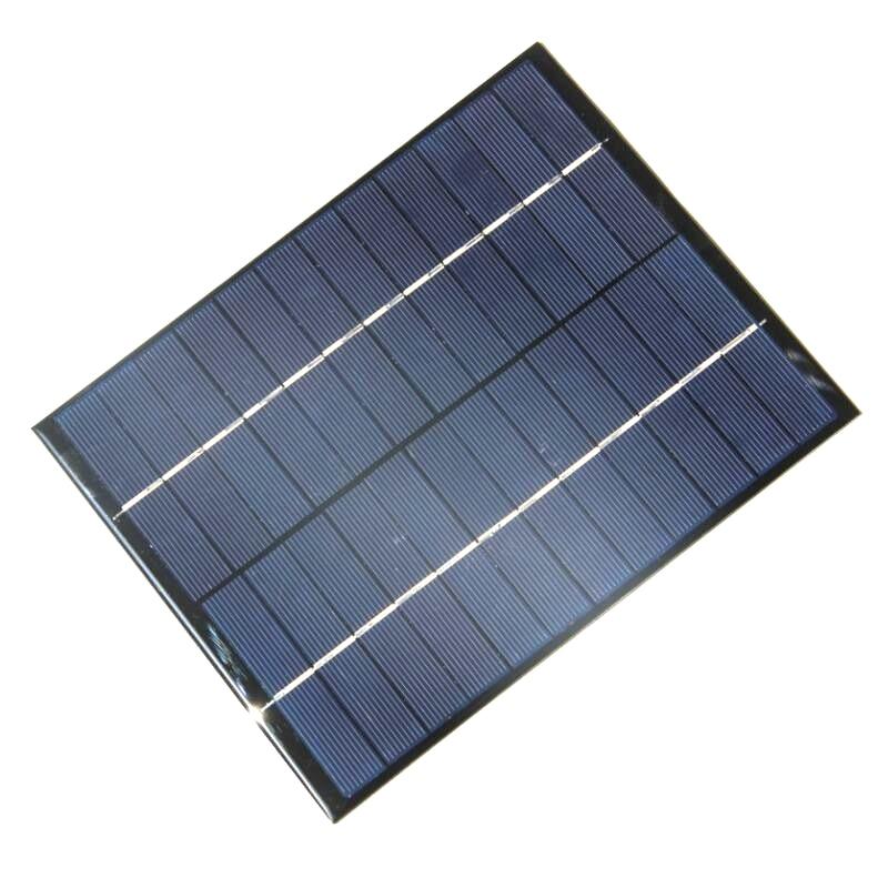 5 2W 12V Solar Cell Polycrystalline Solar Panel DIY Panel Solar Power Battery System Charger 165x210x3
