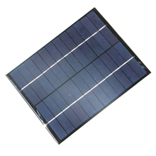 5.2W 12V Solar Cell Polycrystalline Solar Panel DIY Panel Solar Power Battery System Charger 165x210x3 MM