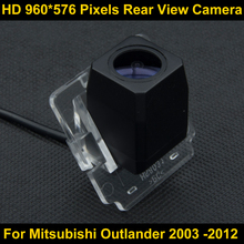 PAL HD 960*576 Pixels Car Parking Rear view Camera For Mitsubishi Outlander 2003 2004 2005 2006 2007 2008 2009 2012 Waterproof