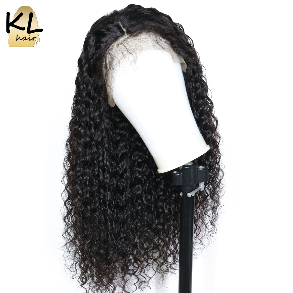 Deep wave Lace Front Human Hair Wigs For Black Women 250 Density Brazilian Remy Hair 13