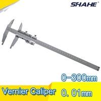Vernier caliper 0 300mm inner diameter outside diameter depth step four use 0.02mm