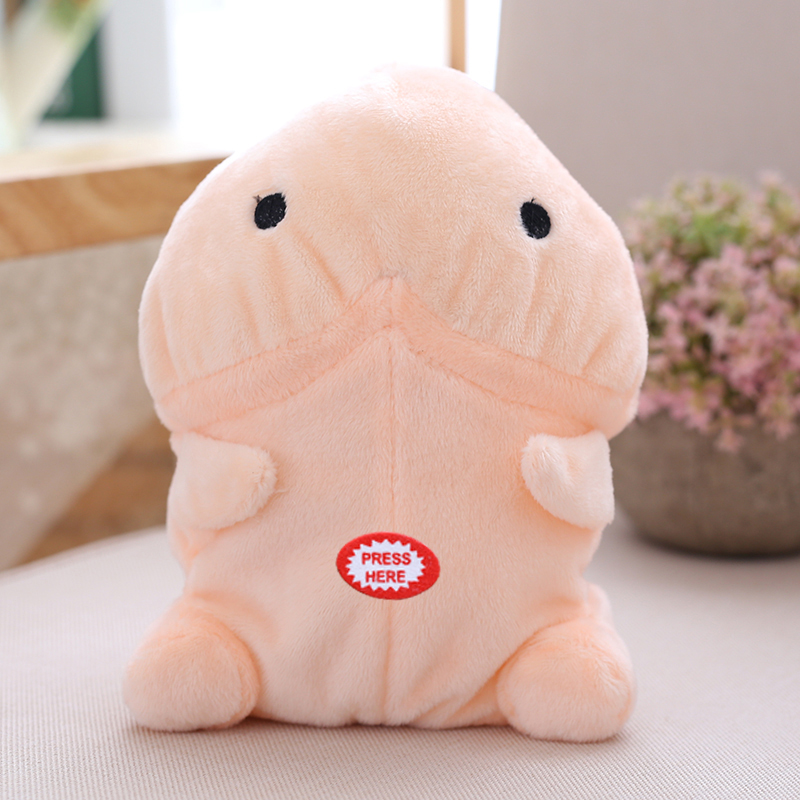 electric ushihito plush talking and repeat penis plush toy Japanese anime stuffed soft doll funny priapus plush boyfriend toy ...
