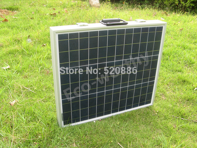 USA stock, no tax, 80W  12V poly portable folding solar panel, solar module, solar battery  for  12v battery, RV,camping,boat new uk stock 40w 12v poly solar panel poly solar module high quality free shipping
