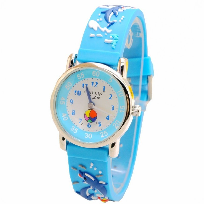 New Kids Children Watches 3D cartoon dolphin Silicone design Wristwatch Brand Fashion Casual Relogio montre clock kol saatiNew Kids Children Watches 3D cartoon dolphin Silicone design Wristwatch Brand Fashion Casual Relogio montre clock kol saati
