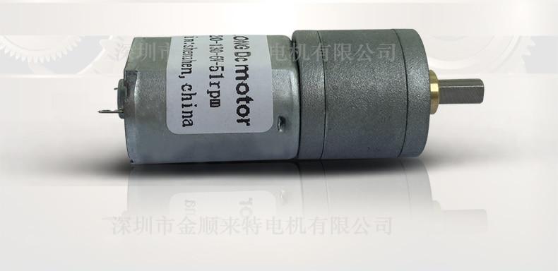ASLONG Miniatura DC Velocidade-redução Do Motor DC Motor Da Engrenagem Baixa-velocidade Do Motor