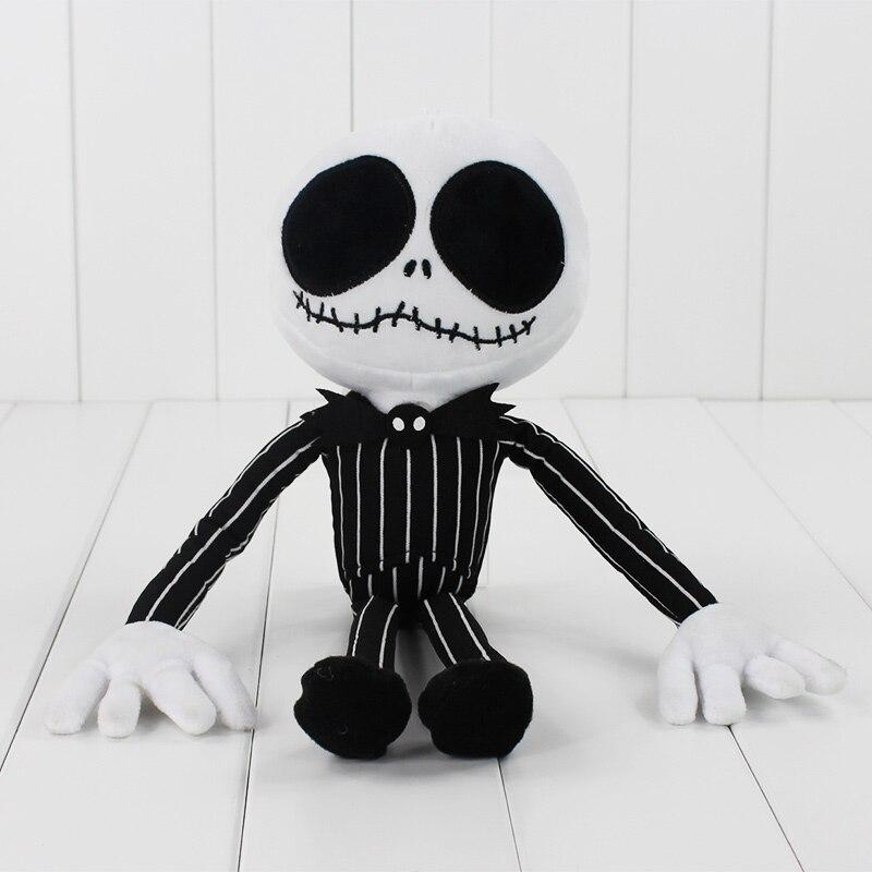 ₩10pcs/lot Jack Skellington Plush Toys Stuffed Action Figure Dolls ...