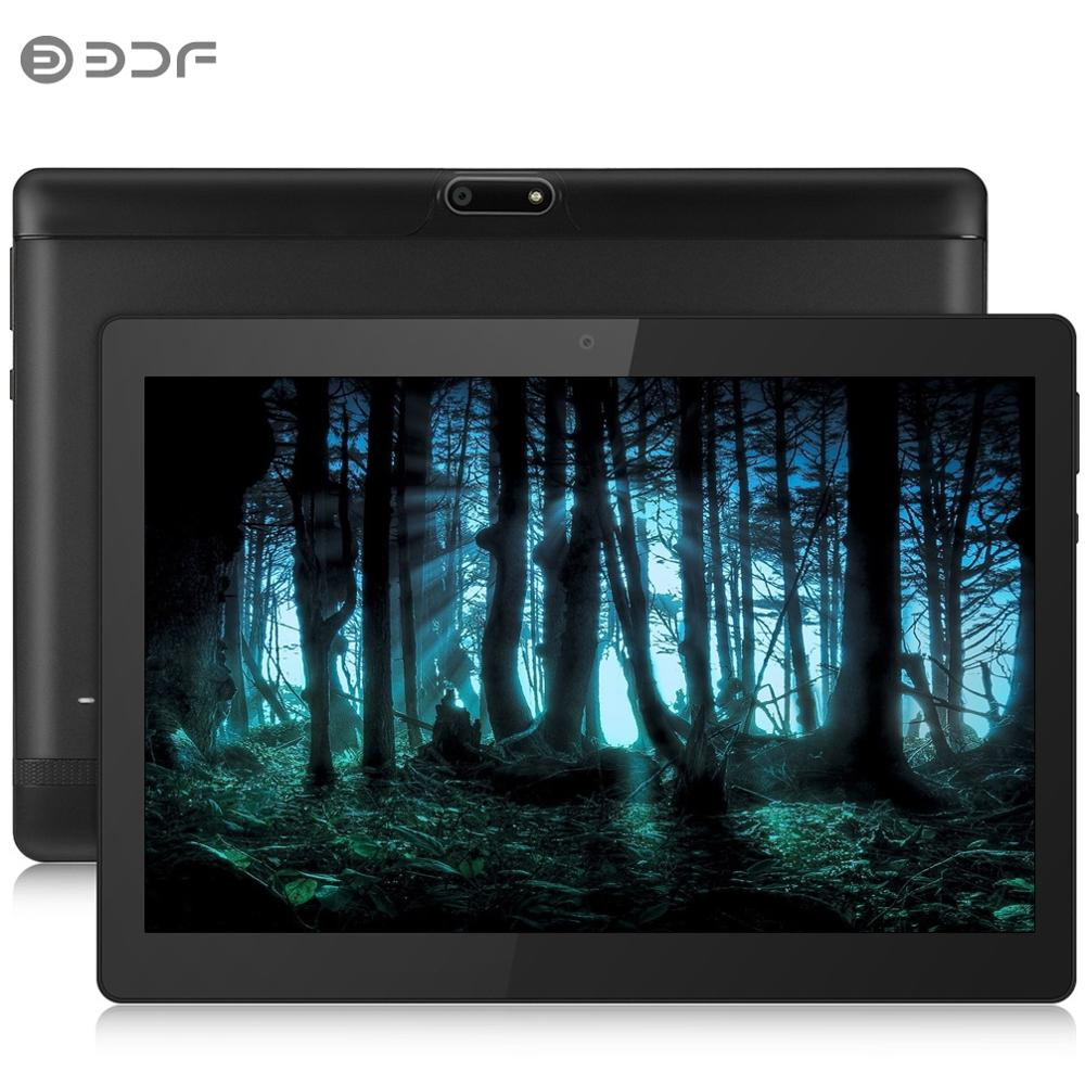 2019 novo 10 polegada 4g lte tablet pc octa núcleo 4 gb ram 64 gb rom 1280*800 ips vidro temperado 10.1 comprimidos android 7.0 telefone móvel