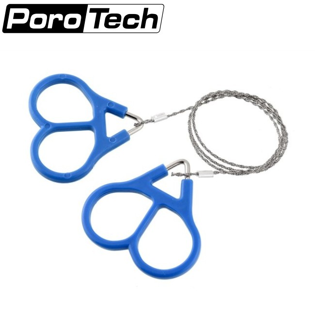 Outdoor Plastic Steel Wire Saw Ring Scroll Travel self defence Chainsaws Hand Saw Fret Saw Tools