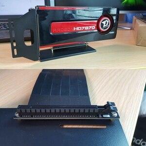 Image 2 - PCIe 3.0 Vga グラフィックビデオカードブラケット垂直垂直転送フレームサポート PCI E 3.0 × 16 拡張ケーブル GTX1080Ti