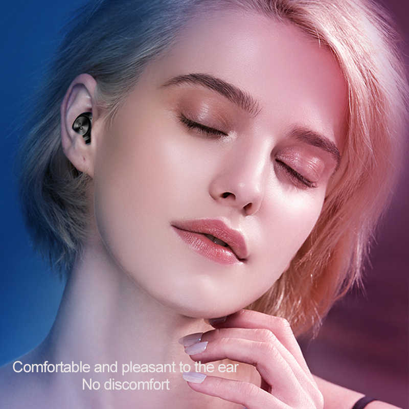 A6 TWS Bluetooth 5.0 in-ear sans fil Bluetooth écouteurs sport écouteurs tête de jeu-téléphone pour tous les téléphones intelligents
