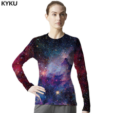 Galaxy Shirt Space Universe 3d Print Tshirt Women Hort Long Sleeves Womens Brand Clothing Hip Hop Top Tees Cool Hiphop Clothes