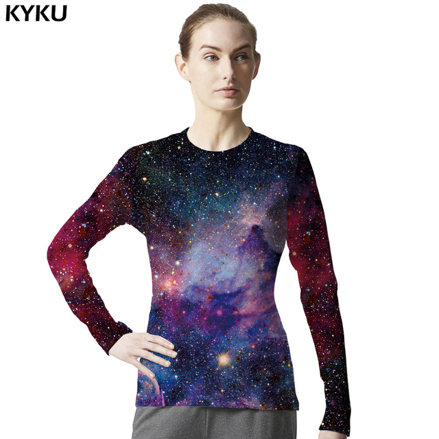 d8981d5ea8f US $11.59 |Galaxy Shirt Space Universe 3d Print Tshirt Women Hort Long  Sleeves Womens Brand Clothing Hip Hop Top Tees Cool Hiphop Clothes-in  T-Shirts ...