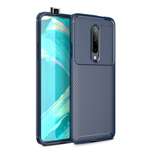 For OnePlus 7 Pro Case Cover Carbon Fiber Texture Shockproof Soft TPU Silicon Back Cover Case for One Plus 7Pro Capa Accessorie