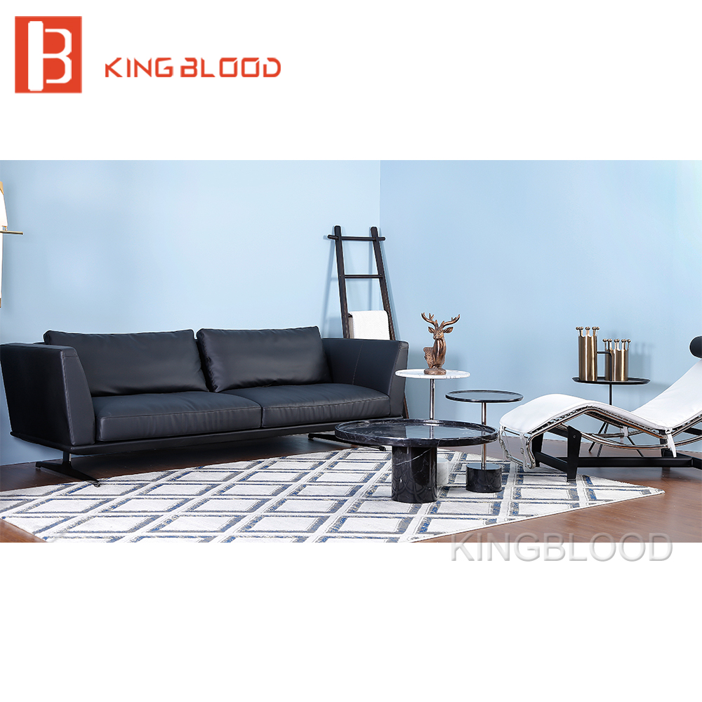 American style leather sofa set designs living room sofa for B q living room furniture