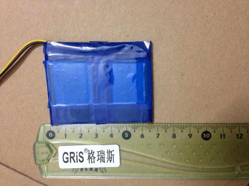 7,4 V SAST для мобильного, dvd батарея 1200 mAh Мобильная телевизионная батарея детский плеер портативная батарея три провода литий-ионная аккумуляторная батарея