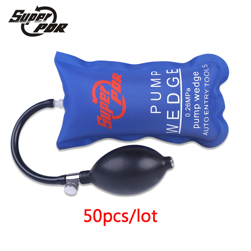 50pcs set Locksmith Supplies Pump Wedge Locksmith Tools Auto Air Wedge Airbag Lock Pick Set Open
