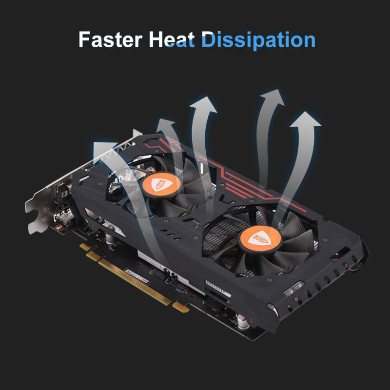 GTX1060 GDDR5 192Bit 3G Gaming Graphics Cards 4104MHz Memory Frequency HD Video Output VGA Card ...