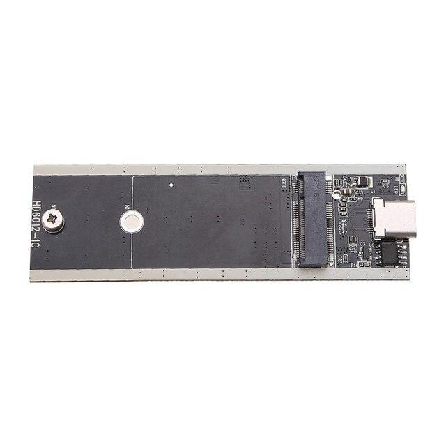 NI5L External B Key M.2 NGFF SSD to USB 3.1 Type-C Super Speed Converter Adapter Supports Windows2000/XP/7/8/10, Vista Linux Mac