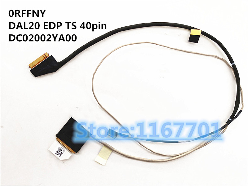 New Original Laptop/notebook LCD/LED/LVDS cable for <font><b>Dell</b></font> Latitude <font><b>3590</b></font> L3590 E3590 0RFFNY DAL20 EDP TS touch 40pin DC02002YA00 image