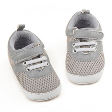 First Walkers Baby Shoes Sneaker Toddler Casual Footwear Sport Breathable Mesh Shoes for 0-18 Months Baby Newborn Boys