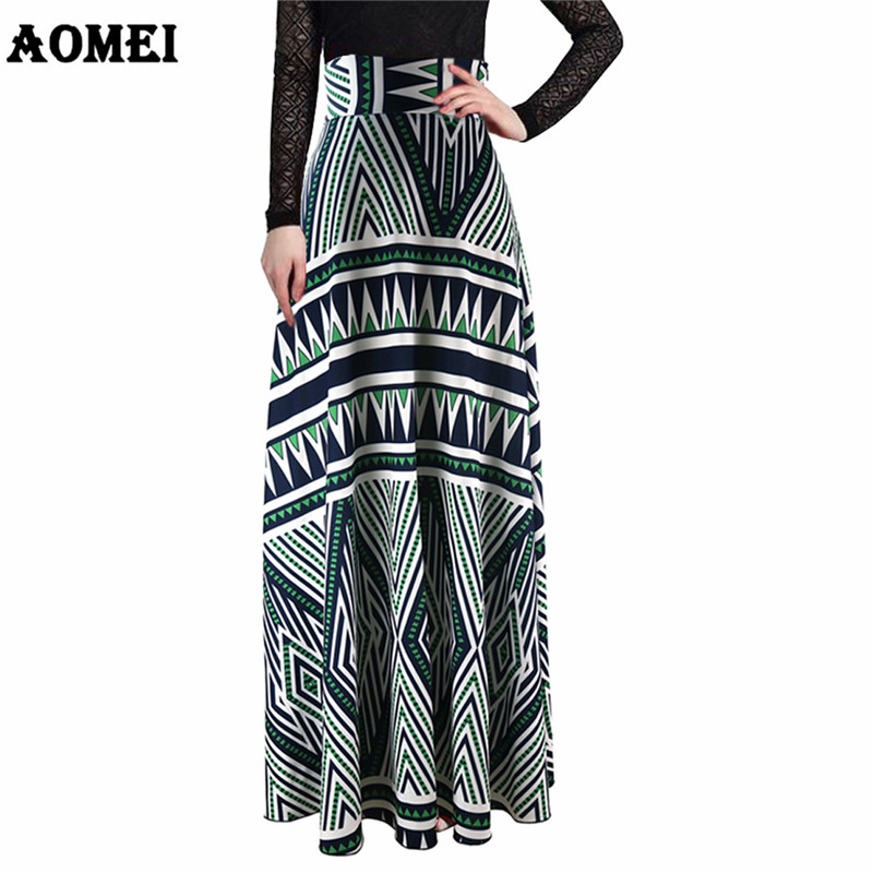 High Waist Maxi Elegant Skirt Women's Skirts