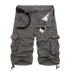 Для мужчин s Военная униформа брюки карго шорты для женщин 2019 Фирменная Новинка армия камуфляж тактические Шорты хлопковые свободные