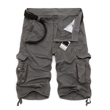 Mens Military Cargo Shorts 2019 Brand New Army Camouflage Tactical Shorts Men Cotton Loose Work Casual Short Pants Plus Size