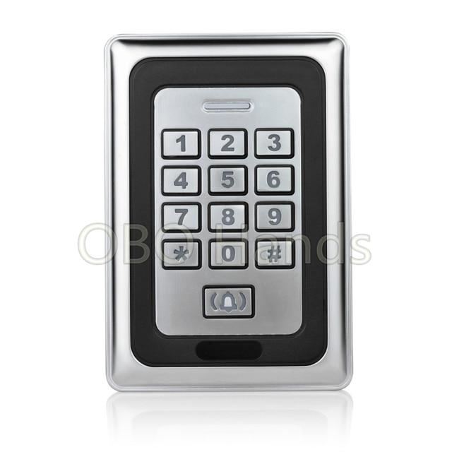 Electric door lock keypad rfid key fob reader RFID card reader metal keypad Security-K88  sc 1 st  AliExpress.com & Electric door lock keypad rfid key fob reader RFID card reader metal ...