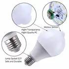 10 шт. Светодиодная лампа с датчиком движения PIR светодиодная лампа 7 Вт 9 Вт Авто умная светодиодная Инфракрасная Лампа PIR + свет E27 датчик движ... - 2