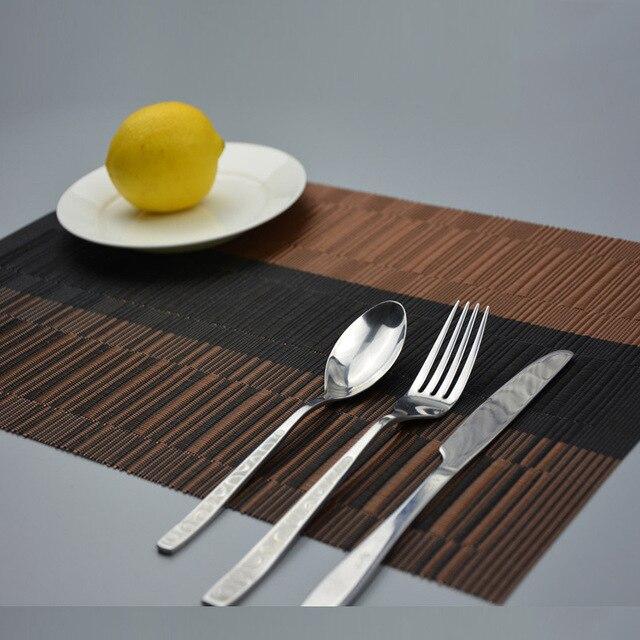 4 pcs/ensemble Rétro napperon à manger sets de table set de table ...