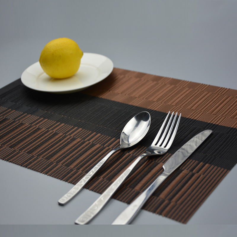 4pcs Set Retro Placemat Dining Table Mats Set De Table