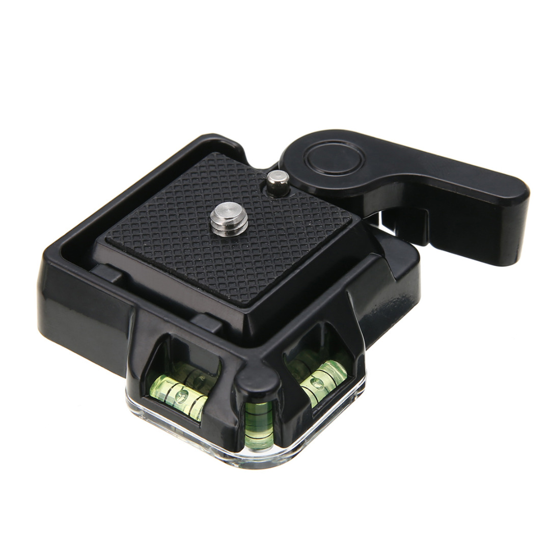 Mayitr High Quality Quick Release Plate Clamp 1/4 - 3/8 Screw Adapter QR Tripod Plate For Camera Accessories