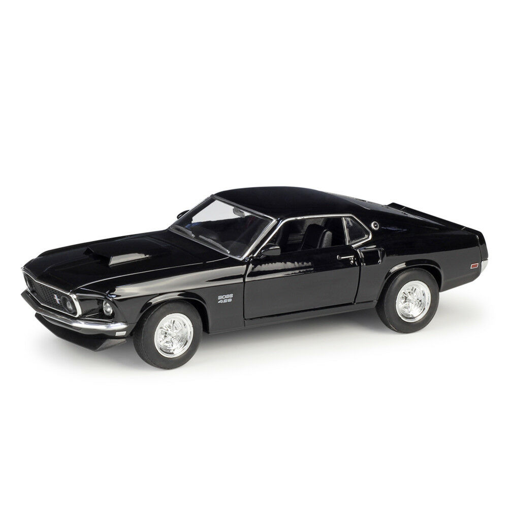 Welly 1:24 1969 Ford Mustang Boss 429 Diecast Model Sports Racing Car Vehicle NEW IN BOXWelly 1:24 1969 Ford Mustang Boss 429 Diecast Model Sports Racing Car Vehicle NEW IN BOX
