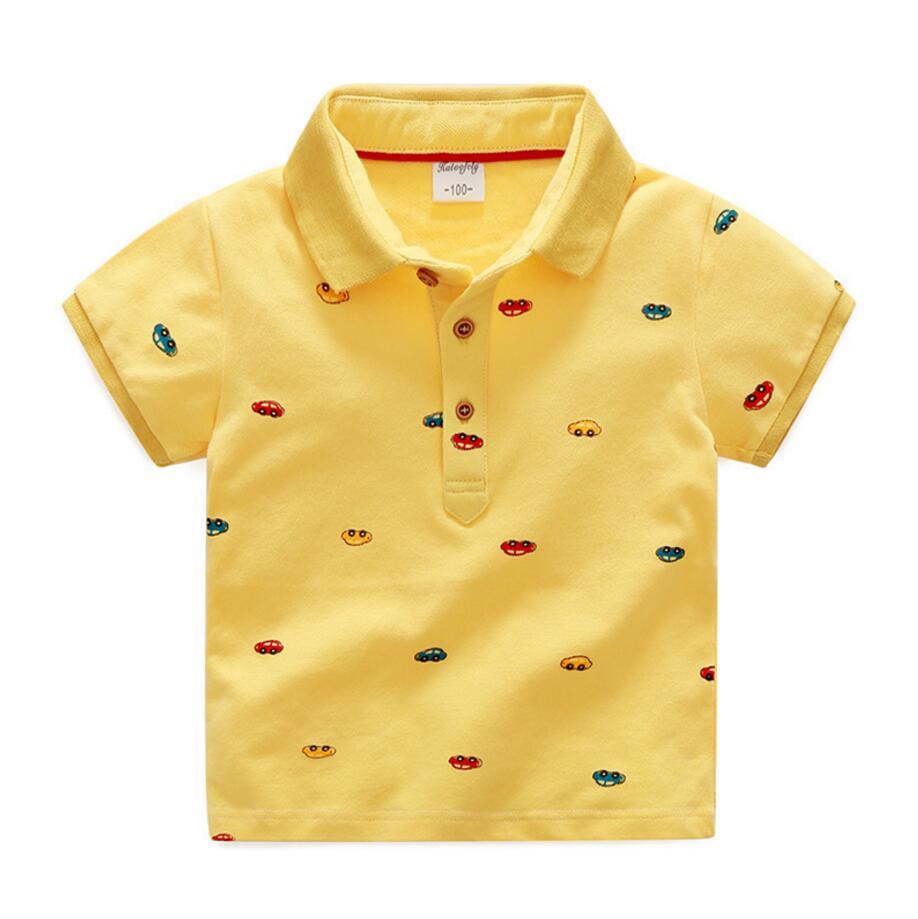 4 Цвета доступны немного Обувь для мальчиков Мини автомобили печатных футболка летний Look At Me милые топы для мальчиков