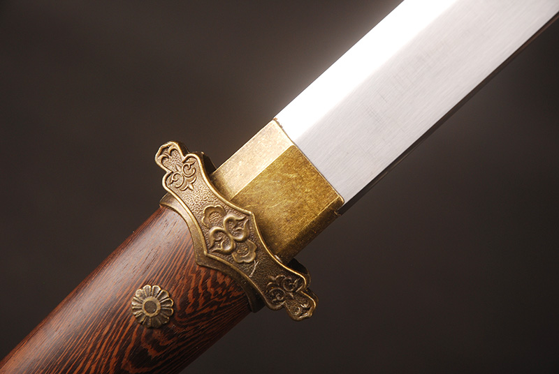 Chinese Tang Dynasty High Carbon Steel Double Edge Sword 3