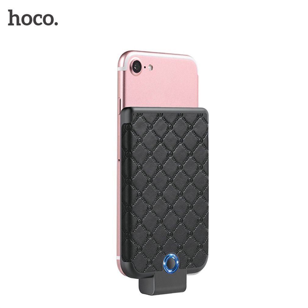 HOCO BW4 4000mAh Tiny Cool Back Clipped Power Bank Lithium Polymer Back Folder Mobile Power Universal