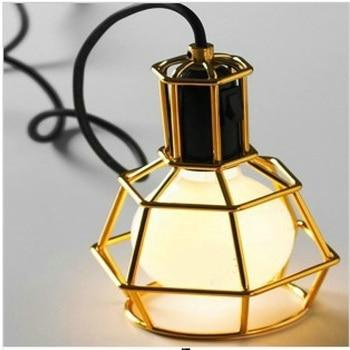 Creative design Iron pendant light living room restaurant bar clothing store industry wind restoring pendant lamps za