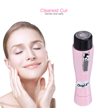 Battery Operated Lady Epilator Women Bikini Trimmer Shaver Cordless Electric Hai