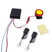 1 Means Alarm System Bike Anti-theft Safety burglar Alarm System Lock Safety 2 Distant Management For Any Mannequin Scooter
