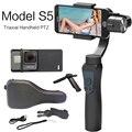 Высокое качество Jcrobot S5 3-осевой ручной bluetooth-стабилизатор для смартфонов GoPro Hero Action Camera FPV Accs
