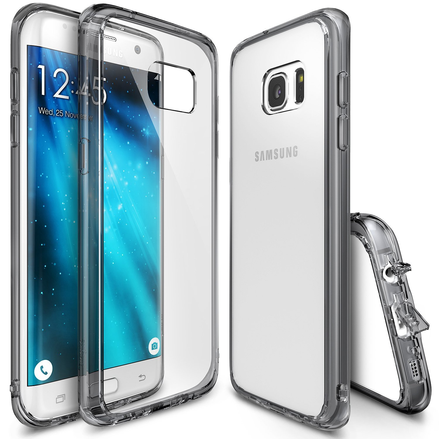 new styles 4b4ad 4256b US $11.99 |Ringke Fusion Case For Galaxy S7 Edge Hard Back Panel + Soft TPU  Frame MIL STD Cases for Samsung Galaxy S7 Edge-in Fitted Cases from ...