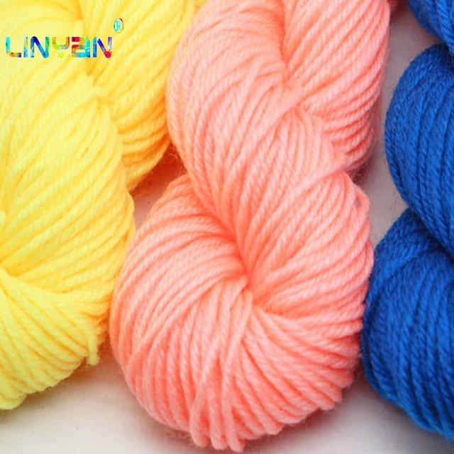 9631fe575 thread to knit Acrylic yarn baby knitting crocheting 20pcs 700g lot ...
