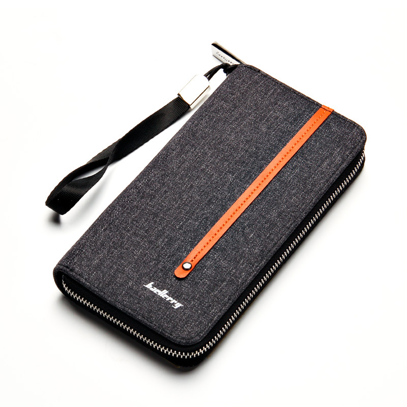 Men Clutch Bags Canvas Men Wallets Fabric Male Clutch Long Zipper Men Purse Card Holders Phone Case Carteira Masculina brand double zipper genuine leather men wallets with phone bag vintage long clutch male purses large capacity new men s wallets