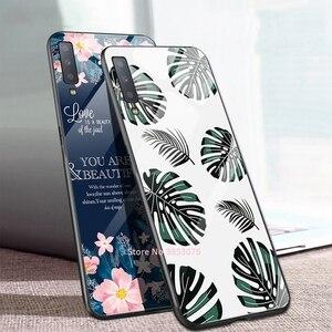 Image 4 - מזג זכוכית טלפון מקרה לסמסונג גלקסי A50 A70 A50S A30S A20 S10e S10 S9 S8 בתוספת A7 2018 הערה 10 פרו 10 בתוספת דפוס כיסוי