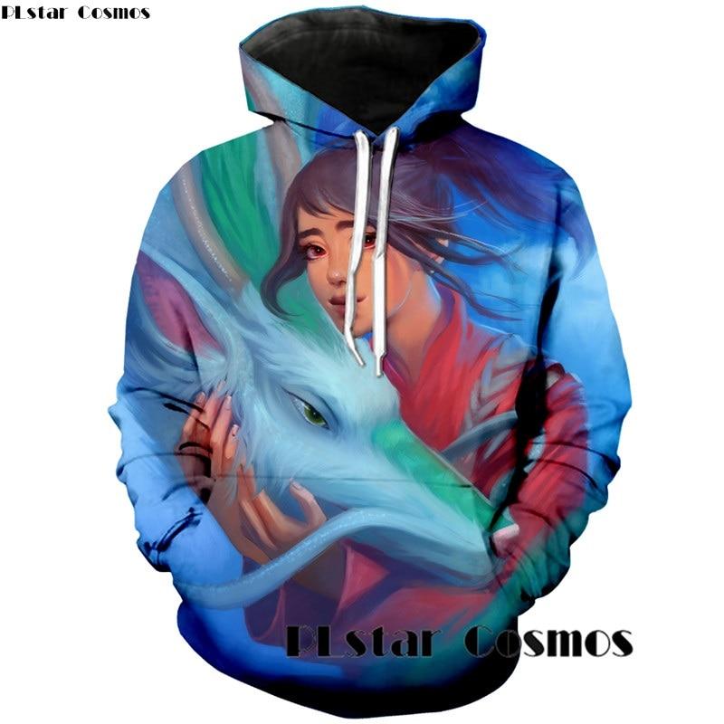 Spirited Away 3d anime printed hoodie (1)