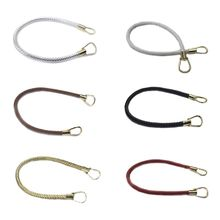 DIY Handbag Braided Pu Leather Purse Handles Handbags Replacement Straps Accessories