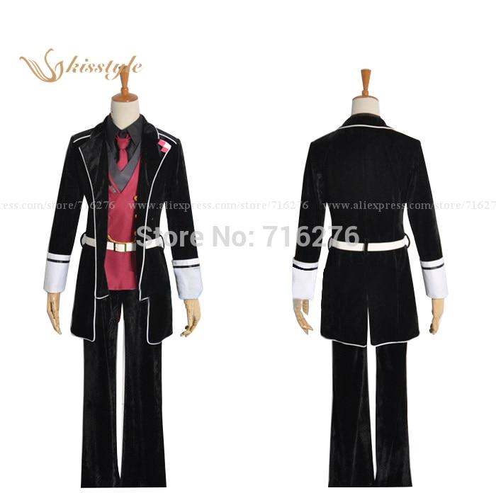 Kisstyle Fashion Anime Diabolik Lovers Sakamaki Reiji Cloth Uniform Cosplay Costume