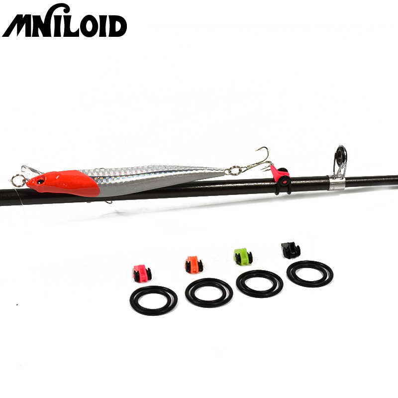 MNILOID 5 set/lot Plastic Fishing Hook Keeper Safe Easy Hook Holder for Fishing Rod Pole Fishing Accessories wholesale