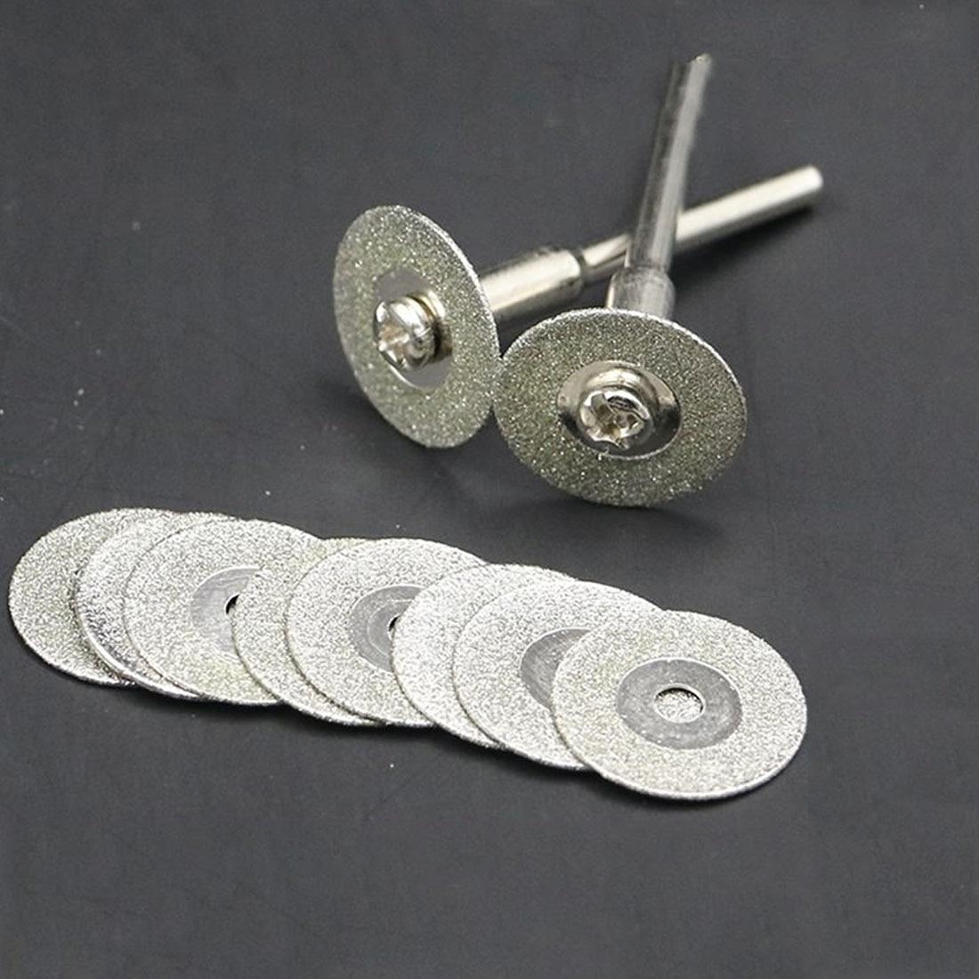 60mm Diamond Cutting Disc For Mini Drill Dremel Tools Diamond Disc Steel Rotary Tool Circular Saw Abrasive Saw Blade